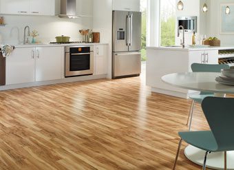 kitchen floor laminate - Laminate Kitchen Flooring